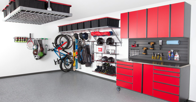 Coordinated Garage Design Aspen